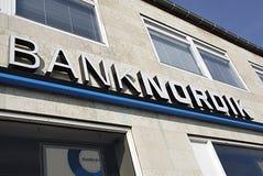 DENMARK_DANMARK_BANKNORDIK Royalty Free Stock Photography