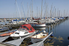 DENMARK_DANMARK_MARINA Royalty Free Stock Photo