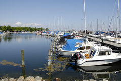DENMARK_DANMARK_MARINA Royalty Free Stock Photography