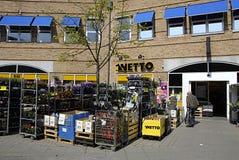 DENMARK_DANMARK_Netto chian store Stock Image