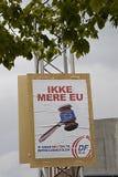 DENMARK_DANMARK_NO MORE EU Stock Photos