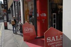 DENMARK_discount tot 50% Royalty-vrije Stock Afbeeldingen