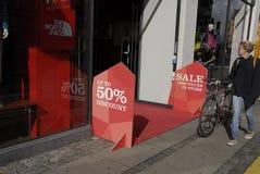 DENMARK_discount upp till 50% Royaltyfria Bilder