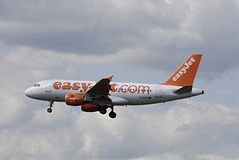 DENMARK_easyjet Flights Royalty Free Stock Photo