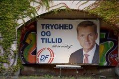DENMARK_ELECTION COMPAING BILLBOARDS Stock Images