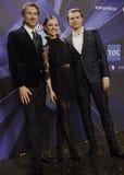DENMARK_EUROVISION LIEDwedstrijd 2014 Royalty-vrije Stock Afbeelding