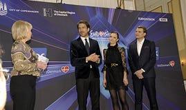 DENMARK_EUROVISION PIEŚNIOWY konkurs 2014 Zdjęcia Stock