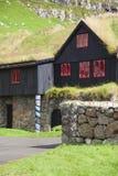 Denmark, Faeroe island. Royalty Free Stock Photo