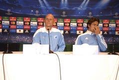 DENMARK_FC KOBENHAVN PRESS CONFERENCE Stock Image
