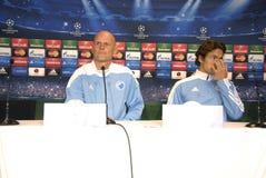 DENMARK_FC KOBENHAVN PRESS CONFERENCE Stock Images
