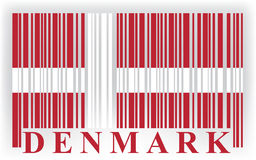Denmark flag Royalty Free Stock Image