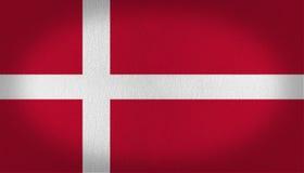 Denmark flag Royalty Free Stock Photos