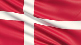 denmark flaga ilustracji