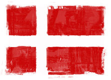 denmark flagga vektor illustrationer