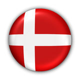 denmark flagga Royaltyfri Foto