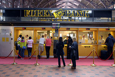 DENMARK_forex bank Fotografia Stock