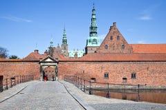 Denmark. Frederiksborg castle Royalty Free Stock Photo