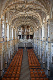 Denmark. Frederiksborg castle. Knight's hall Royalty Free Stock Photography