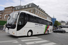 DENMARK_GERMAN BUS TOURISM Stock Photography