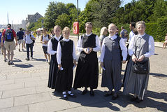 DENMARK_german female evangelius posaune Stock Photos