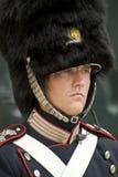 denmark guardkunglig person Royaltyfri Bild