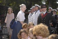 DENMARK_H M The QUEEM MARGRETHE II VAN DENEMARKEN Stock Fotografie