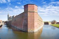 Denmark. Hamlet castle. Kronborg Royalty Free Stock Images