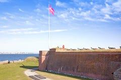 Denmark. Hamlet castle. Kronborg Stock Image