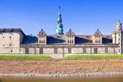 Denmark. Hamlet castle. Kronborg Stock Images