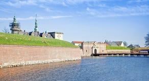 Denmark. Hamlet castle. Kronborg Royalty Free Stock Photos