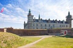Denmark. Hamlet castle. Kronborg Stock Photography