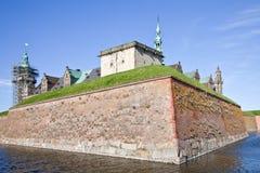 Denmark. Hamlet castle. Kronborg Royalty Free Stock Photo