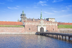 Denmark. Hamlet castle. Kronborg Royalty Free Stock Photography