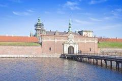Denmark. Hamlet castle. Kronborg Royalty Free Stock Photography