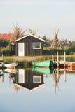 denmark havn Royaltyfria Bilder