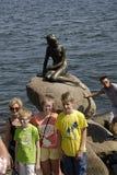 DENMARK_HOLIDAY ΚΑΤΑΣΚΕΥΑΣΤΕΣ ΚΑΙ ΛΙΓΟ MERMAIN Στοκ Φωτογραφίες