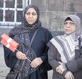 DENMARK_iraqi πιό portest Στοκ Φωτογραφία