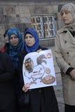 DENMARK_iraqi portest Photos stock