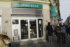 DENMARK_jyske bank Royalty Free Stock Photos