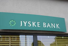 DENMARK_JYSKE BANK Stock Photos