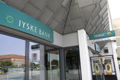 DENMARK_JYSKE BANK Royalty Free Stock Photos