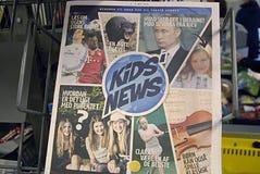 DENMARK_kids news Royalty Free Stock Photo
