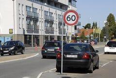 DENMARK_60 km-maximumsnelheid Royalty-vrije Stock Afbeelding