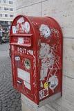 DENMARK_LETTER pudełko Obrazy Stock