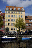 DENMARK_LIFE AT CHRISTIANHAVN CANAL Stock Image