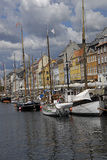 DENMARK_LIFE AT NYHAVN Royalty Free Stock Image