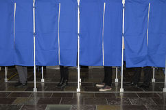 DENMARK_LOCAL ELECTION DAY_CITYHALL Royalty Free Stock Image