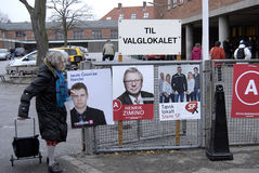 DENMARK_LOCAL ELECTION DAY Royalty Free Stock Images