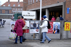 DENMARK_LOCAL ELECTION DAY Stock Image