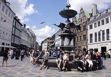 DENMARK_MAC ΟΘΟΝΗ ΤΗΣ APPLE Στοκ εικόνα με δικαίωμα ελεύθερης χρήσης